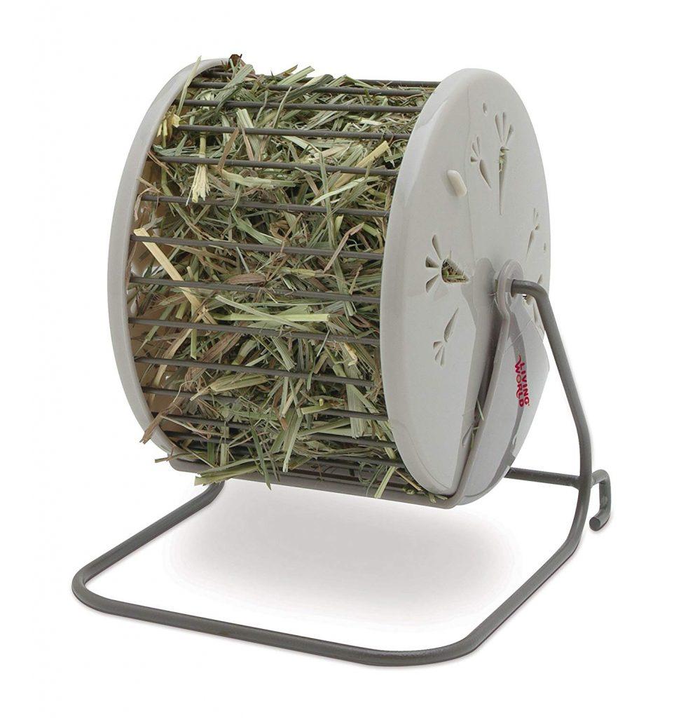 rueda dispensadora de heno